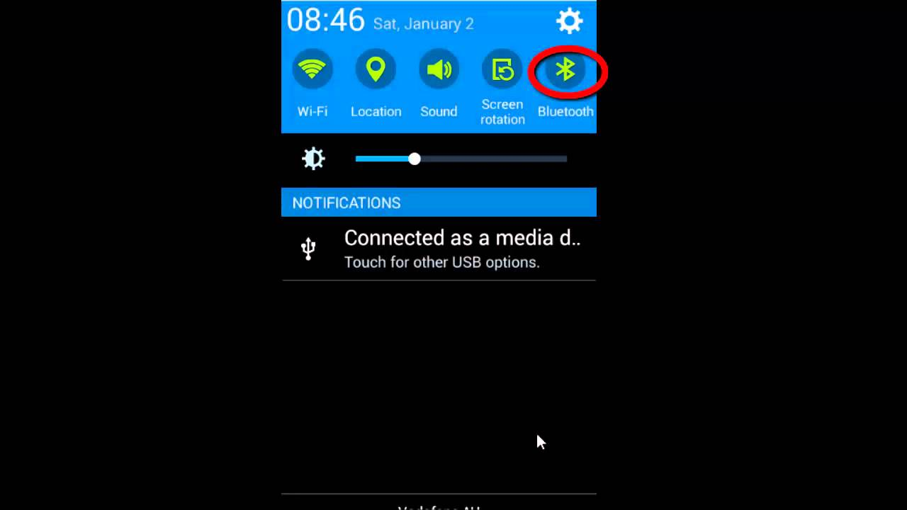 How to turn off bluetooth in Android phone