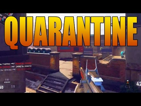 "Advanced Warfare ""QUARANTINE"" Map Gameplay (Reckoning Multiplayer DLC Pack #4)"