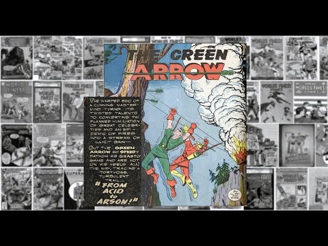"Green Arrow: ""From Acid to Arson"", Worlds Finest Comics #12"