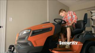 Husqvarna Lawn Tractor SmartSwitch™ feature