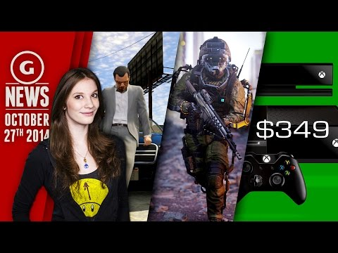 Xbox One Price Cut, Call of Duty Leaks, GTA 1080p on PS4? - GS News