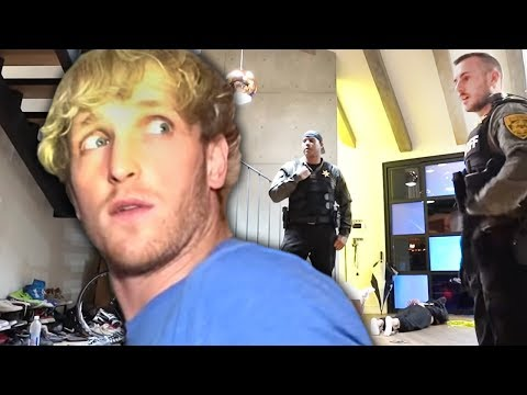 Logan Paul Confronts Man Trying To Break Into His House thumbnail