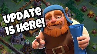 BIGGEST CLASH OF CLANS UPDATE IS HERE! NEW VILLAGE AND GAME MODE
