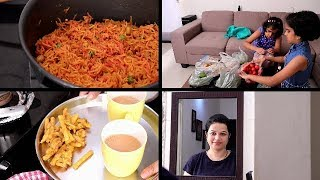 INDIAN EVENING TEA TIME TO DINNER ROUTINE | evening to night routine | BEETROOT PULAO |Indianvlogger