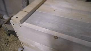 как сделать ящик для засолки сала