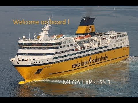 welcome on board mega express 1 corsica ferries youtube. Black Bedroom Furniture Sets. Home Design Ideas