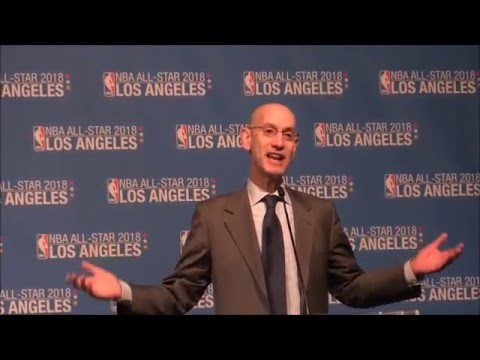 2018 NBA All-Star Game coming to LA: Commissioner Adam Silver announcement