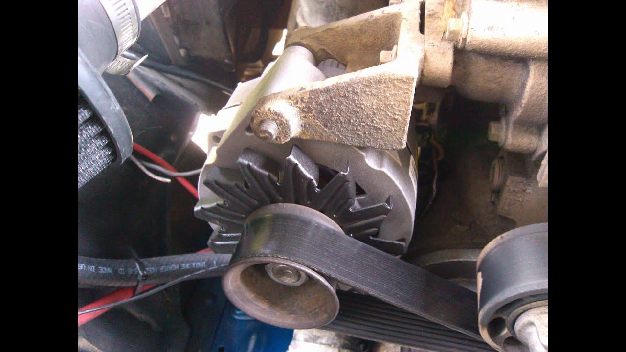 hight resolution of ford f150 cummins swap alternator and wiring part 4 4bt ford alternator wiring diagram