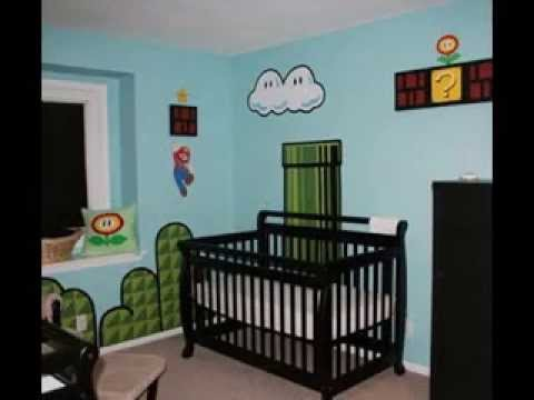 Diy video game room decor ideas youtube for All room decoration games