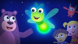 how do fireflies glow at night?  | Learning Video for kids | Polly Olly