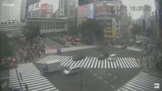 Exclusivo: Assista Chegada do Tufão Trami na capital do Japão Tóquio Ao vivo