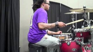 jamel strong my hands are lifted up jackson miss live in concert gw on drums