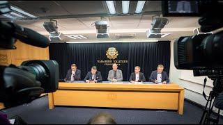 Valitsuse pressikonverents, 12. detsember 2019