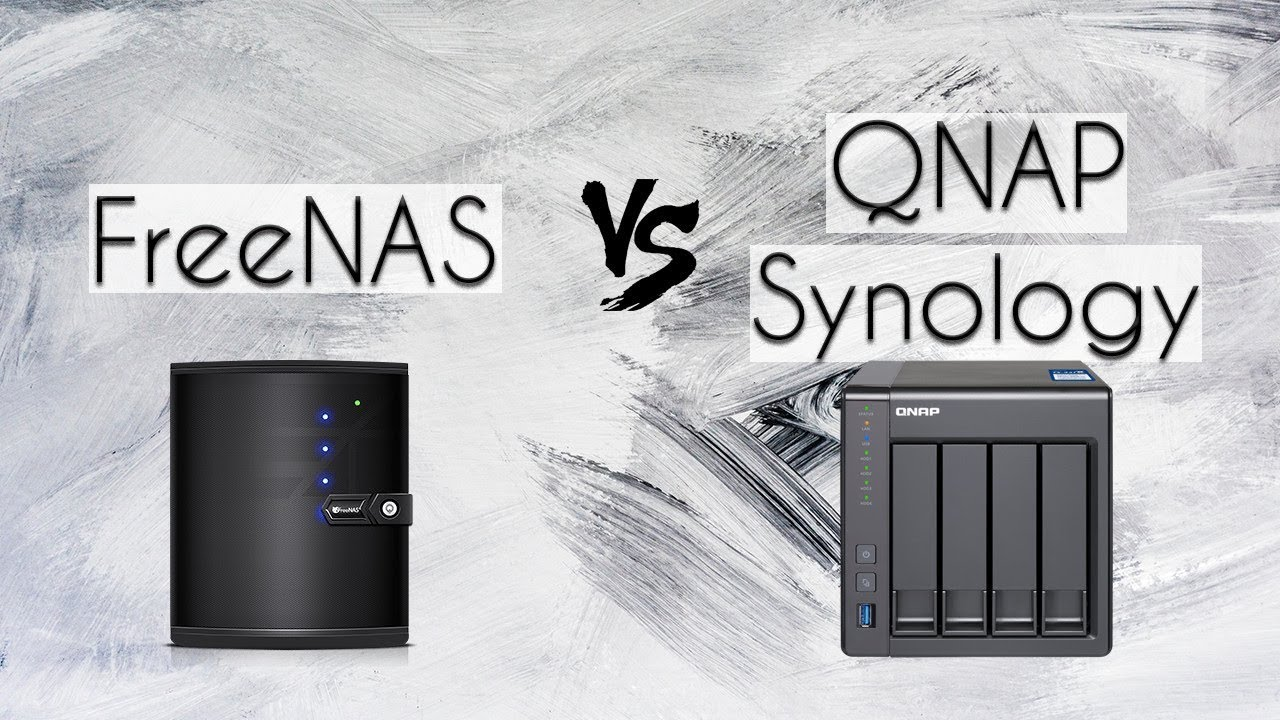 Freenas vs QNAP Synology | Comparison for home setups