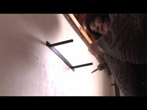 Onzichtbare Bevestiging Legplanken.Hoe Het Moet Een Plankje Ophangen Youtube