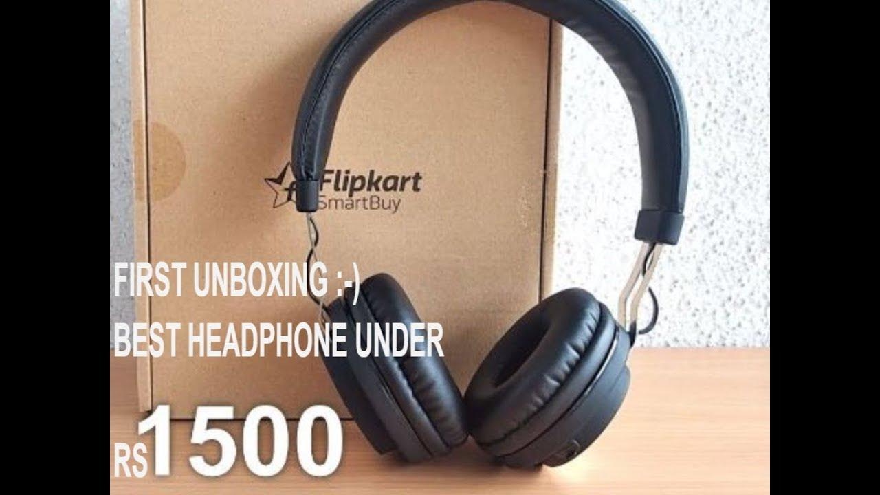 8079ac71312 Flipkart Wireless Smart buy headphones | First Unboxing Video | Hindi | #1 wireless  headphones in 2k