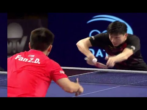 2017 Qatar Open (Ms-Final) MA Long Vs FAN Zhendong [Full Match/English|HD]