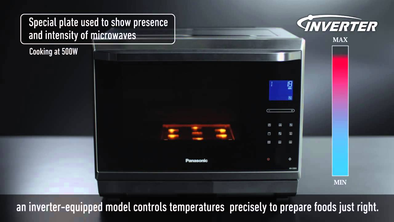 Inverter Function Panasonic Premium Microwave Oven Nn Cs894b Cf874b You