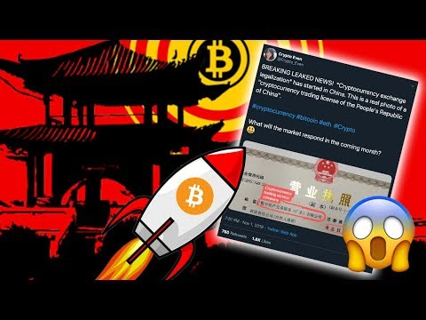 [BREAKING] CHINA CRYPTO EXCHANGE LEGALIZATION - Will Bitcoin Price EXPLODE Over This News?!? 🔥