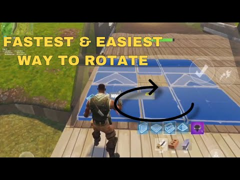 FASTEST WAY TO EDIT RAMP/STAIR | Fortnite Mobile Tutorial