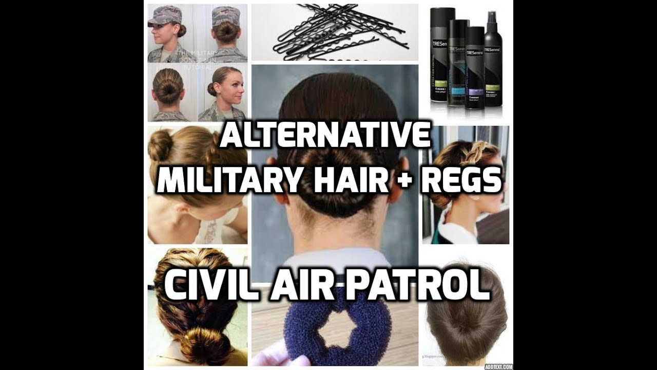 Alternative Military Hairstyles Female Civil Air Patrol