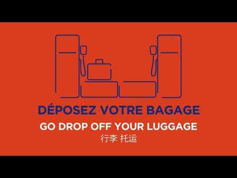 Paris Aéroport Safe Travel : comment fonctionne la dépose bagages automatique ?