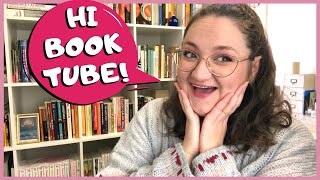 Hi, I'm a BOOKTUBE NEWBIE! 🤗 New to Booktube Tag VR Between Chapters #newtobooktube #booktubenewbie