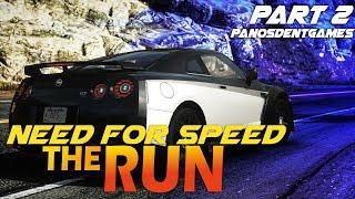 ΕΠΙΚΙΝΔΥΝΕΣ ΔΙΑΔΡΟΜΕΣ ΜΕ ΤΟ NISSAN GTR   Need For Speed The Run #2