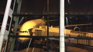 My Journey on Air France Premium Economy Part 3: Airbus A380 Tail Camera View and More / Видео