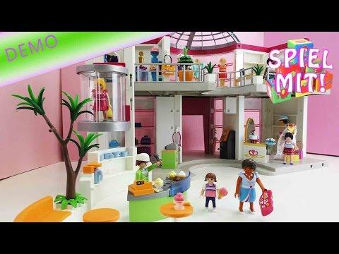 Shopping Center Playmobil - Aufbau und erste Demo des riesengroßen Playmobil Shopping Center