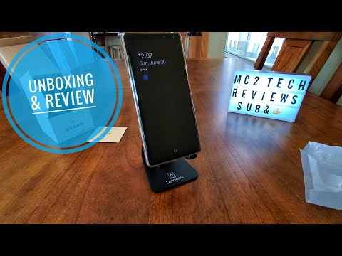 Lamicall Smartphone Stand   unboxing & review