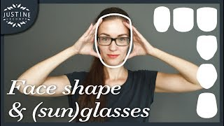 Good glasses & sunglasses for your face shape Justine Leconte