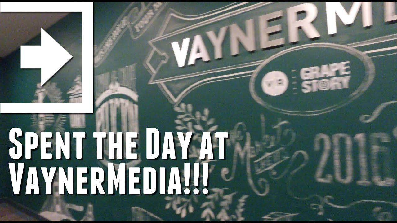 Spent the Day at VaynerMedia!!! (Day 542 - 4.25.2016) - YouTube