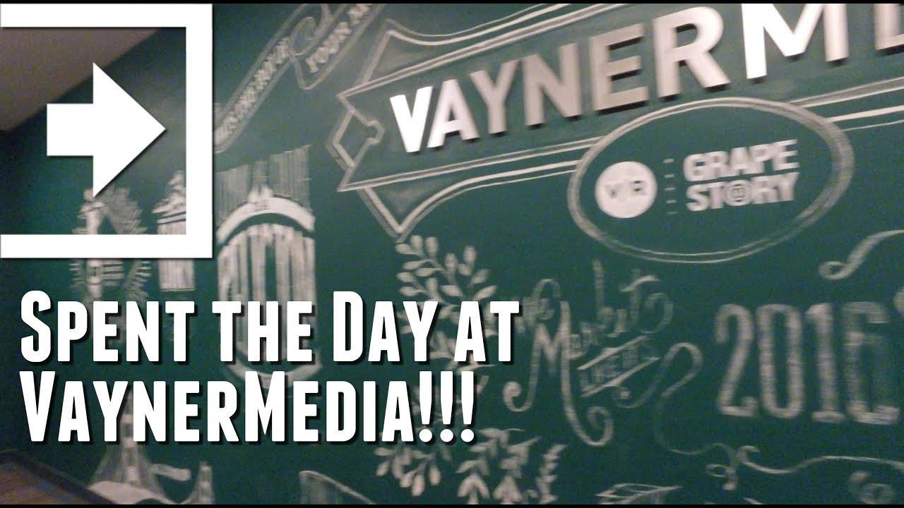 Spent the Day at VaynerMedia!!! (Day 542 - 4.25.2016) - YouTube