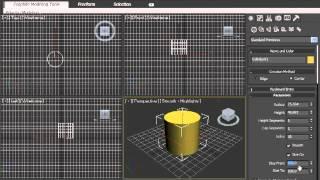 15. Цилиндр в 3D MAX(Так же вы можете найти и другие видео уроки на этом сайте http://video-uroku.blogspot.com/ тут есть урок..., 2012-09-24T02:40:58.000Z)