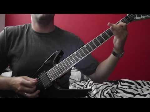 Johannes Brahms - Hungarian Dance No.5 (rock guitar cover by Jarek Bunos) HD