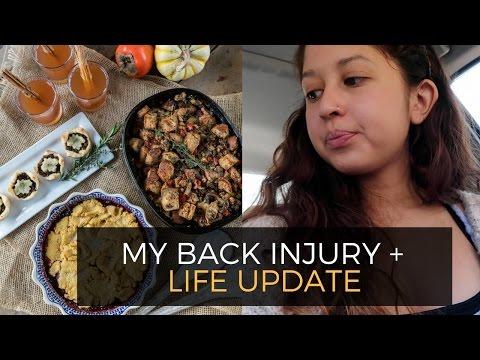Injury & Life Update + Recipe Testing 🙊 // Weekly Vlog