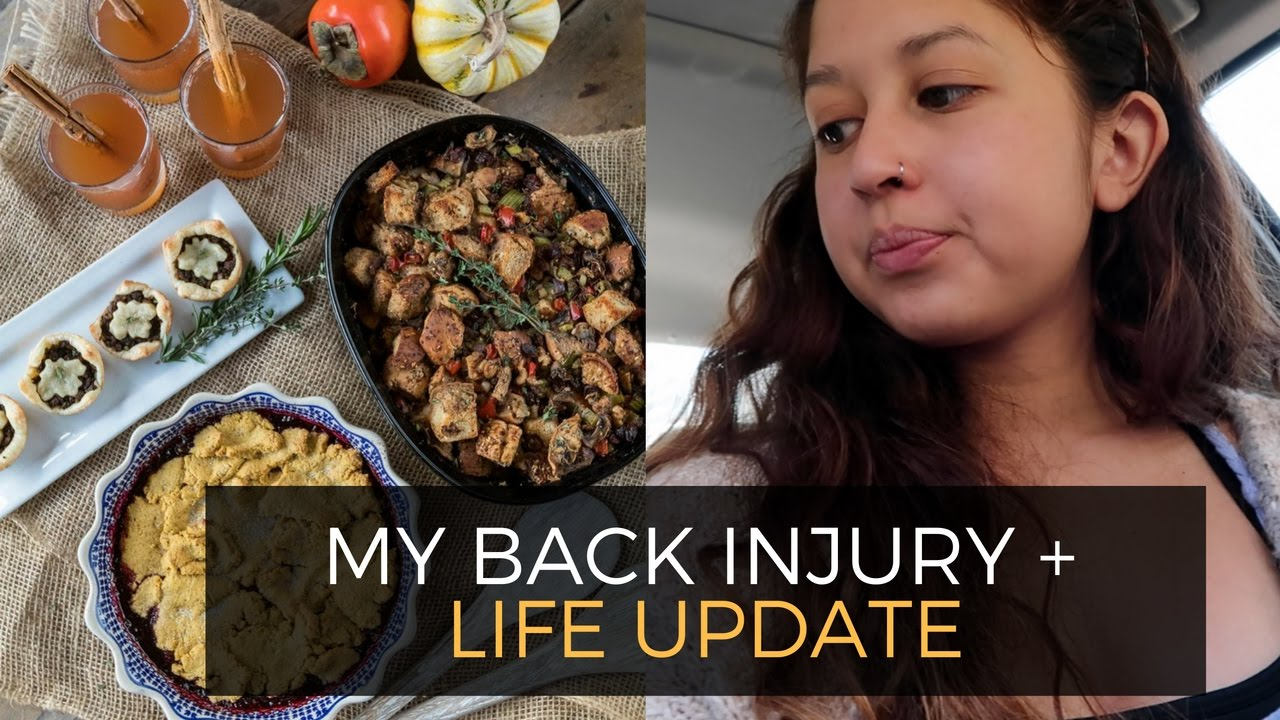 Injury and Life Update and Recipe Testing Weekly Vlog