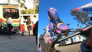 Husaberg TE 250 Wheelie Fail