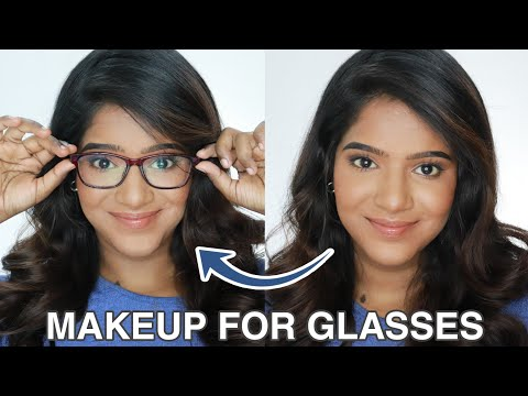 MAKEUP FOR GLASSES🤓Tips and tricks - 동영상