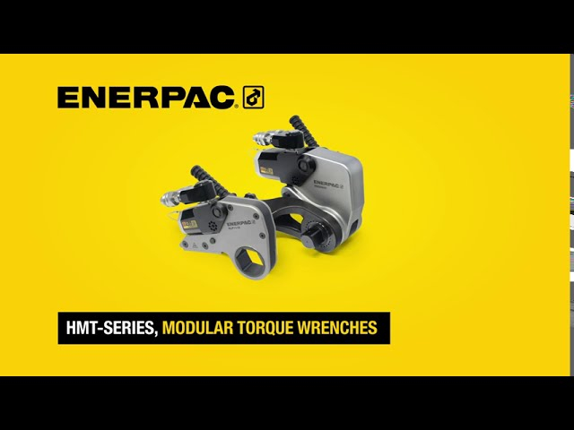 Interchangeable, Modular Hydraulic Torque Wrenches | HMT-Series | Enerpac
