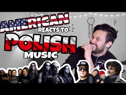 American REACTS // Polish Music