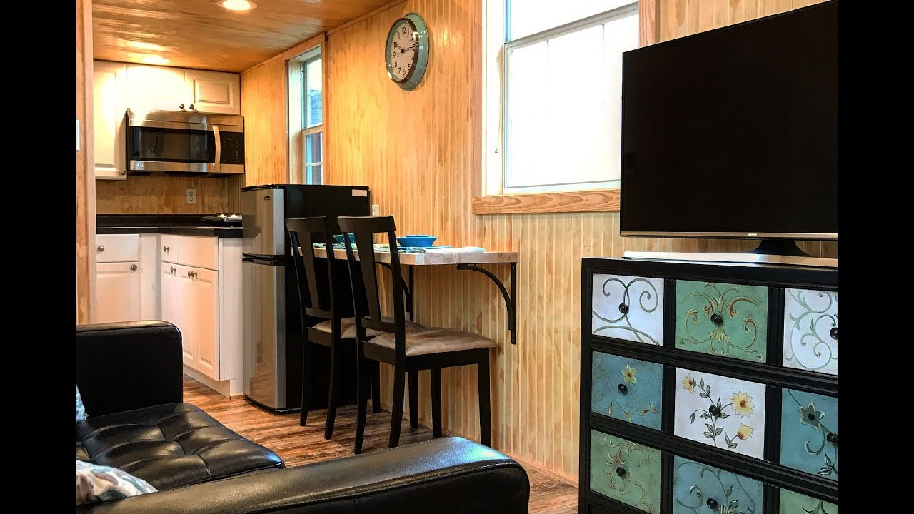 Tiny House Tour Of Our Model The Passage Tiny Home For Sale Tiny