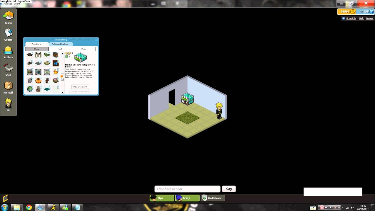 how to make a banzai wired on habbo