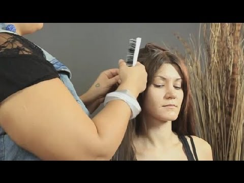 How to Use Hairspray to Create Volume : Long Hairstyles