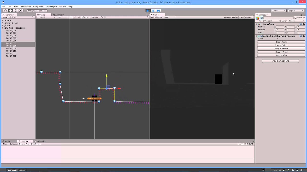 Unity Lab - Mesh Collider Generator