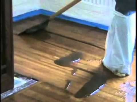 Soy Gel Stripping Timber Floor From Lets Clean Youtube