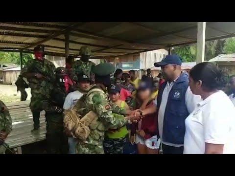 ELN libera a menor que tenía secuestrada en Colombia