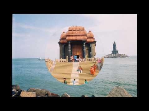 Vivekananda Rock is a popular tourist monument ,Kanyakumari.India ,