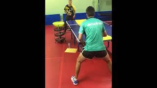 eBaTT Table Tennis Exercise - P2 Jan 2018 (playing down the line)